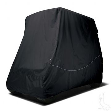 "Club Car, Cover, Black, Carts w/ 80"" Top"
